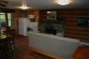 Hillside Log Cabin #5 Living Room