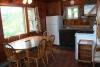 Cottage A - kitchen & living room
