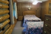 Hillside Log Cabin #6 bedroom