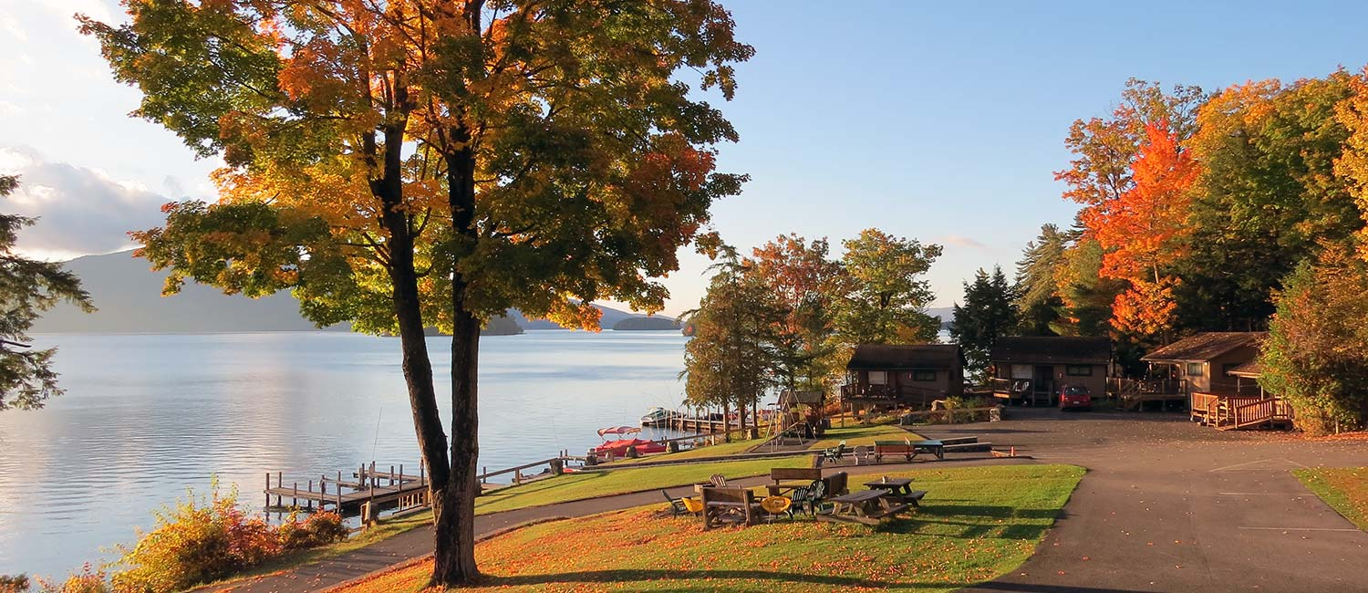 Fall activities in Lake George