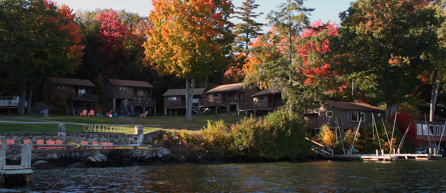 Lakeside Cottages for Rent on Lake George NY | Candlelight