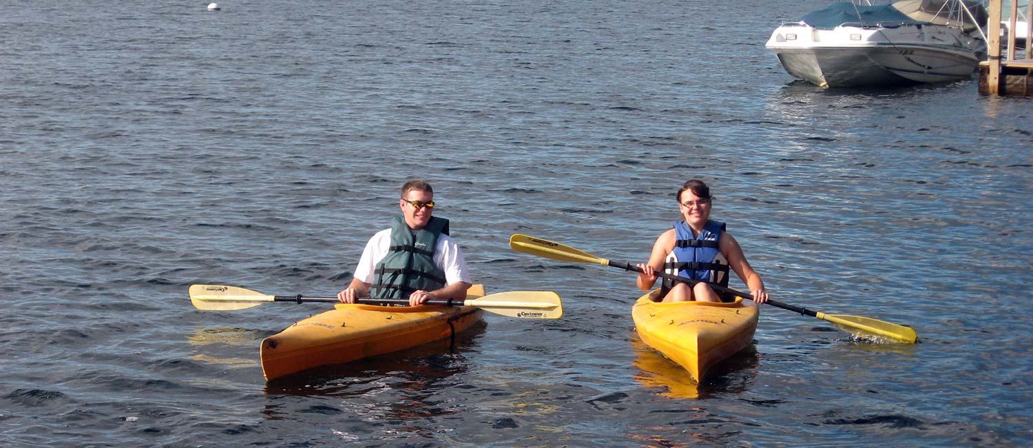 Summer activities at Candlelight Cottages